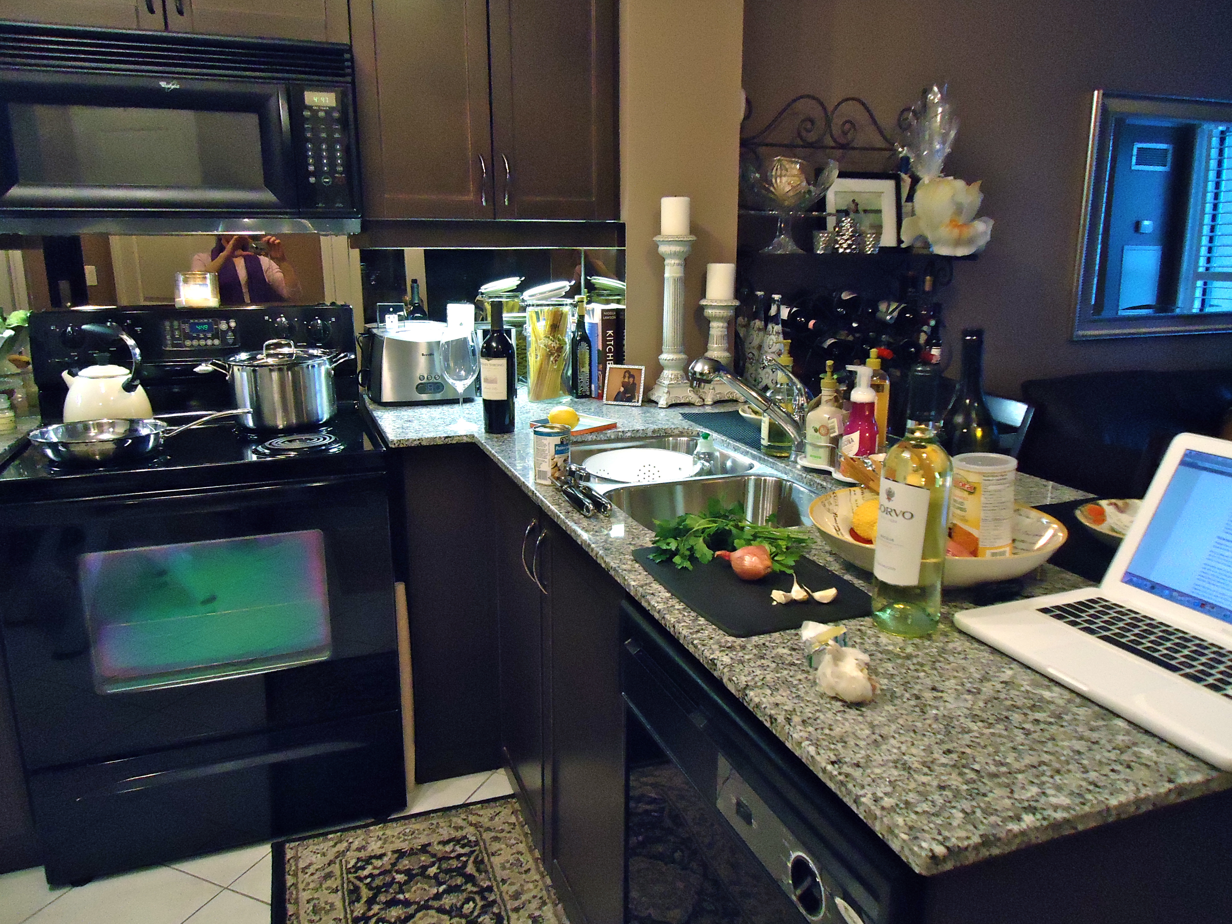 If I Could Build My Dream Kitchen, It Would Be Spacious U0026 Stunning U0026  Include A Fancy Wine Cooler, A Kitchen Island, Lots Of Hidden Storage  Space, ...